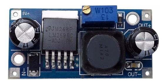 Regulador De Tensão Lm2596 Dc-dc Step-down Arduino