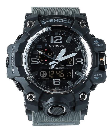 Relógio Masculino Militar Modelo Shock Preto Promoção
