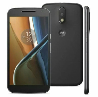 Smartphone Motorola Moto G4 Xt1626 Tv Dual Preto Bateriaruim
