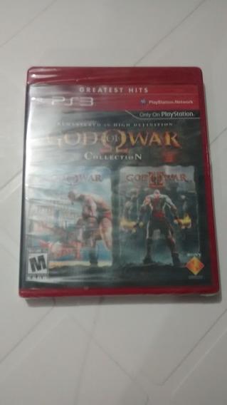 God Of War Collection Ps3 Novo Lacrado