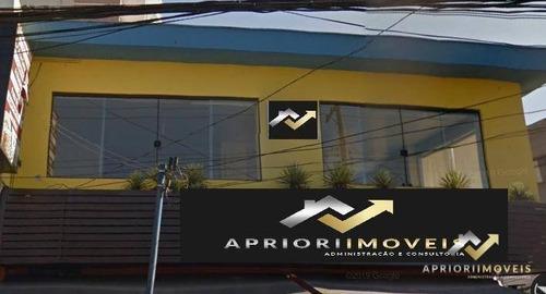 Sala Para Alugar, 150 M² Por R$ 3.800,00/mês - Jardim Bela Vista - Santo André/sp - Sa0109