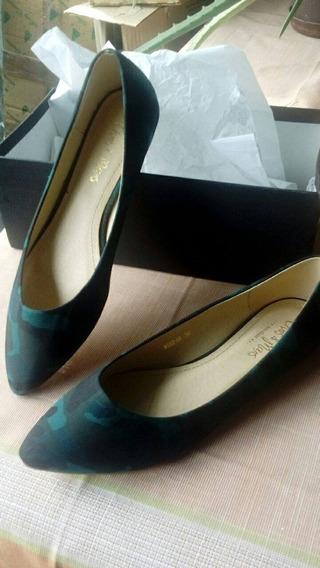 Zapatos De Dama Tipo Zapatillas Número 38 Marca Chris & Mars