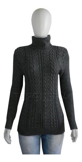 Blusa Feminina Cacharrel Gola Alta Trico Inverno Frio
