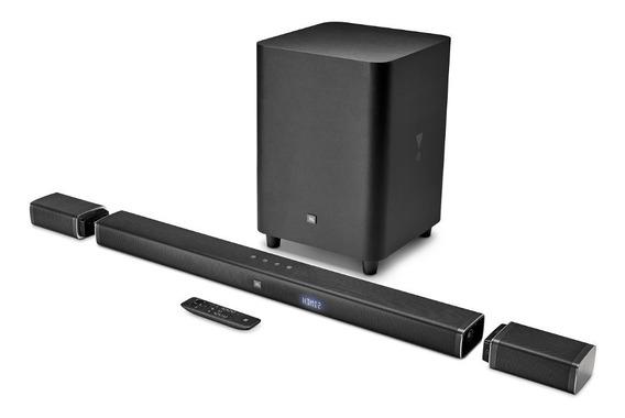 Jbl Bar 5.1 Soundbar 4k Home Sem Fio Bivolt Arc Estoque