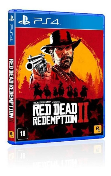 Jogo Game Red Dead Redemption 2 - Ps4
