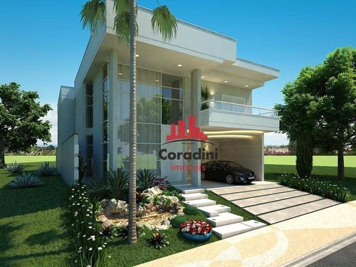 Imagem 1 de 14 de Casa Com 3 Dormitórios À Venda, 309 M² Por R$ 1.500.000 - Parque Nova Carioba - Americana/sp - Ca2132