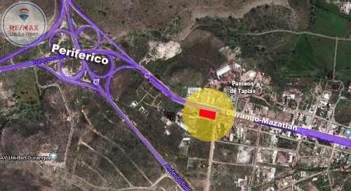 Terreno Comercial En Esquina Carretera Dgo-mazatlan