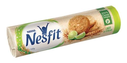 Biscoito Limão E Cereais Nesfit 160g
