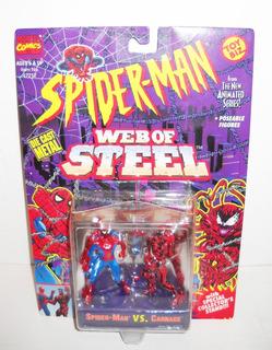 Toy Biz Spiderman Vs Carnage Die Cast Marvel Comics 1994