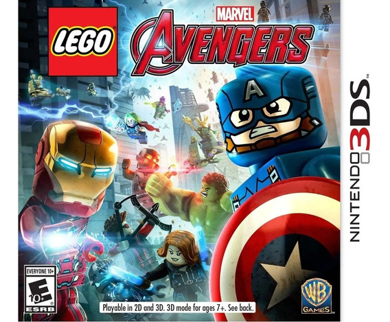 Jogo Lego Marvel Avengers - 3ds Pronta Entrega