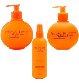 Kit Kpro Petit Teen C/ Shampoo+ Condicionador+ Leave-in