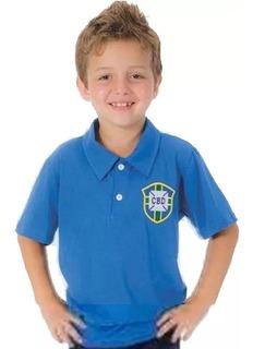 Camisa Seleção Brasileira Infantil Retro 58