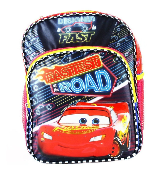 Ruz - Disney Cars Mochila Infantil Kinder