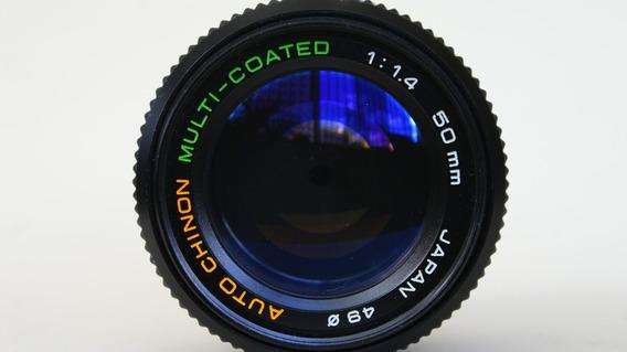 Lente 50 Mm 1.4 Canon / Nkon / Sony . Casi Nuevo .
