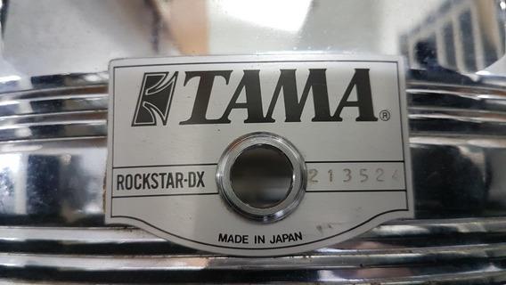 Caixa Tama Rockstar-dx 14x6,5 Japonesa Metal