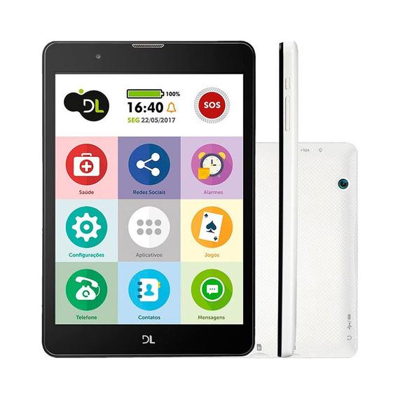 Tablet Tabfácil Dl Tela 7.85 Polegadas 3g Wi-fi 8gb Quad Co