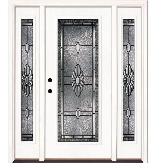 Elegante Puerta Moderna Minimista 64x82 Apertura Opcional