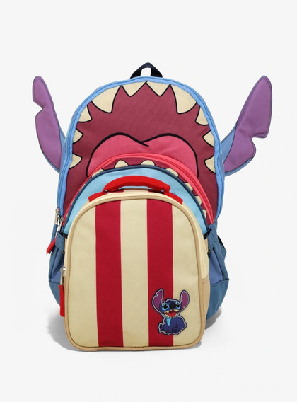 Mochila Y Lonchera Lilo Y Stitch Surf Original Hottopic New