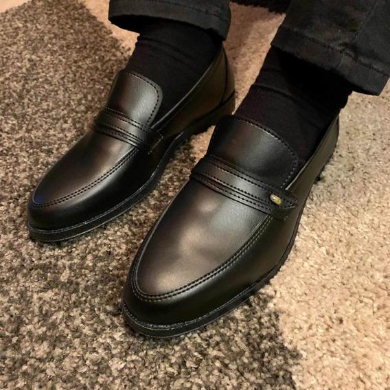 Zapatos Vulcano Simil Cuero 39 Al 44