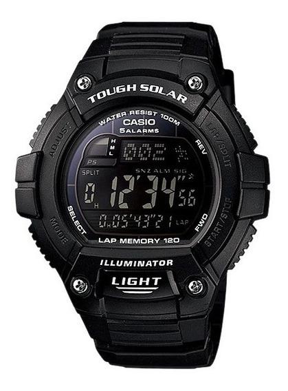 Reloj Casio Digital Touch Solar Alarma Crono Luz Mod W-s220