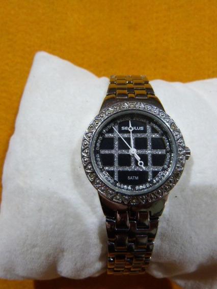 1 Relógio Seculus 23191lossnb Feminino
