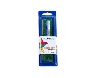 Memoria Ram Pc Adata Pc5300, 2 Gb, Ddr2, 667 Memdat710