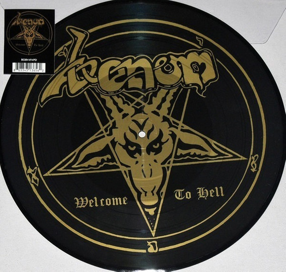 Venom - Welcome To Hell Lp Pic