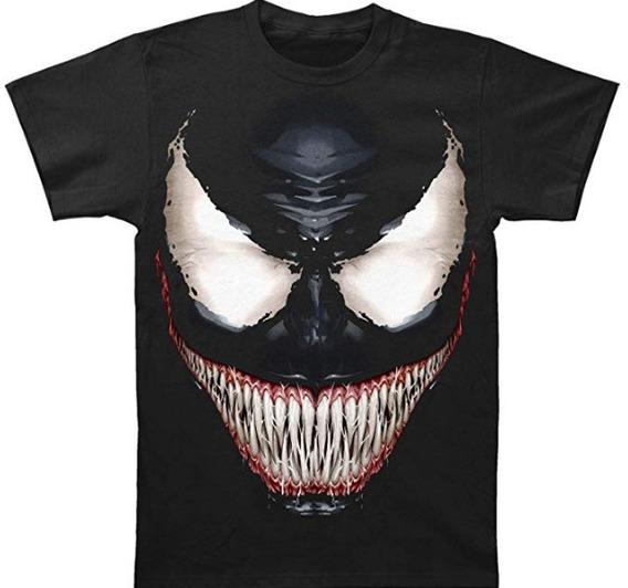 Venom Sinister Marvel T Shirt Camiseta Medium Negra