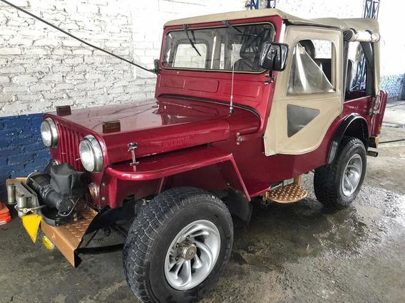Jeep Willis Cj3 Carpado Automático1947