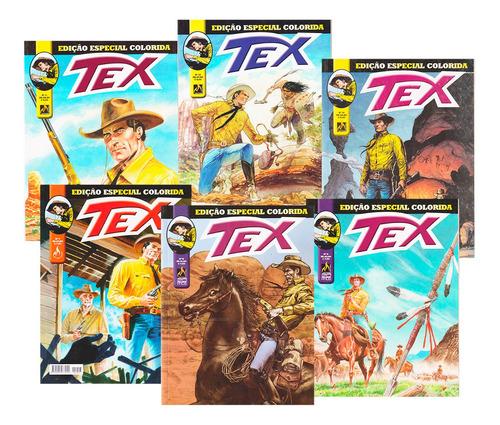 Imagem 1 de 5 de Hq Tex Edição Especial Colorida Faroeste Velho Oeste