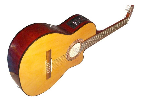 Guitarra Criolla Clasica Electroacustica Gracia Modelo M6eq
