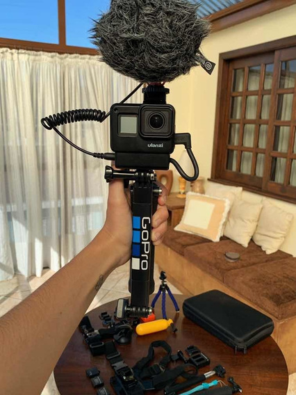 Gopro Hero 7 Black A Mais Equipada Para Vlog Do Merc. Livre