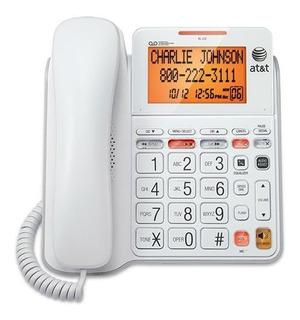 Teléfono Estándar Con Cable Cl Con Contestador Y Pant...
