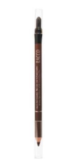 Lápis Delineador Com Esfumaceador Racco Marrom 1,2g