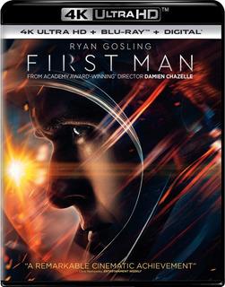 4k Ultra Hd + Blu-ray First Man / Primer Hombre En La Luna