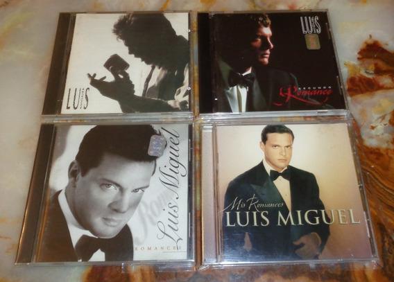 Luis Miguel - Colección Lote Romances X 4 Cds Originales