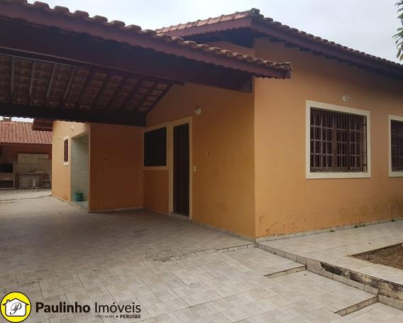 Casa Para Locação Na Praia De Peruíbe - Exclusivo Temporada - Ca03052 - 33272688