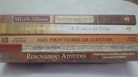 Livros Espirita Aut. Diversos Lote 6 Usados 5unid