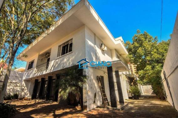 Sobrado À Venda, 500 M² Por R$ 10.000.000,00 - Jardim América - São Paulo/sp - So0487