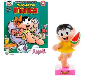 Hq Turma Da Mônica Vol 4 + Figura Magali Edição Colecionador