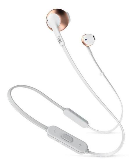 Fone De Ouvido Jbl T205bt Wireless Bluetooth - Rose