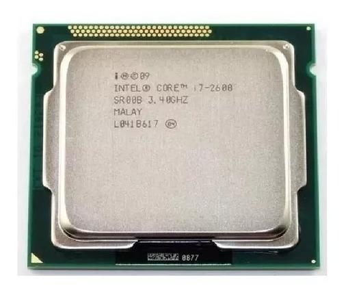 Processador Intel Core I7 2600 1155 3.4 - 3.8gh Pouco Usado