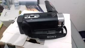 Câmera Sony Handycan.