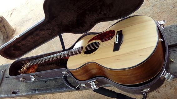 Violão Om Luthier Venutti C/case Térmico Resistente