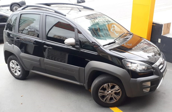 Fiat Idea Adventure 1.8 Flex 16 V 4 Portas Preto Semi Automa