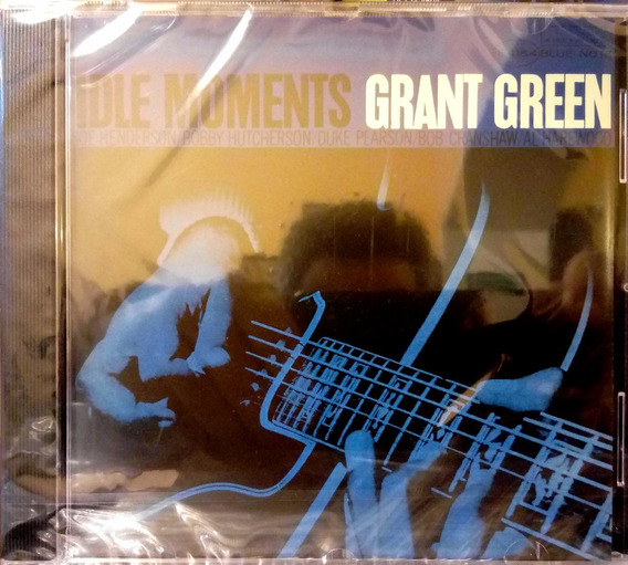 Cd Grant Green Idle Moments - Blue Note Rvg - Novo