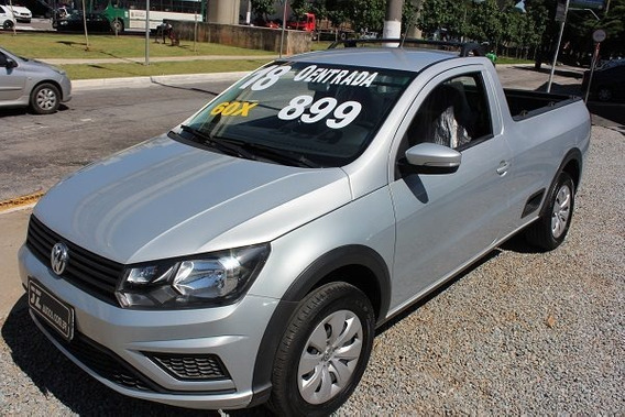 Volkswagen Saveiro Trendline 1.6 Cs - Sem Entrada 60x