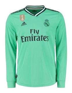 Real Madrid Mangas Longas - Modric