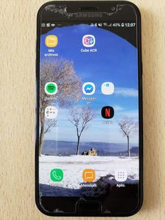 Celular Samsung A7 2017 Excelente Estado C/ Vidrio Protector