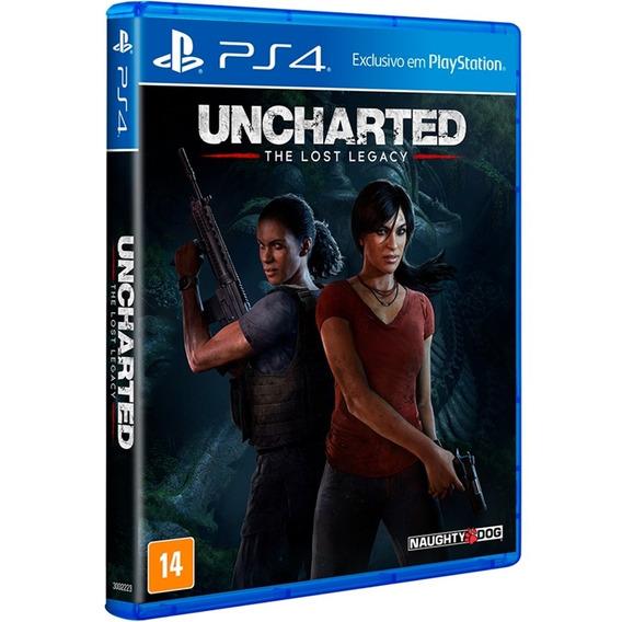 Jogo Uncharted The Lost Legacy Ps4 Midia Fisica Original Br